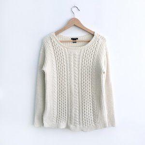 Club Monaco cable-knit sweater - size Small